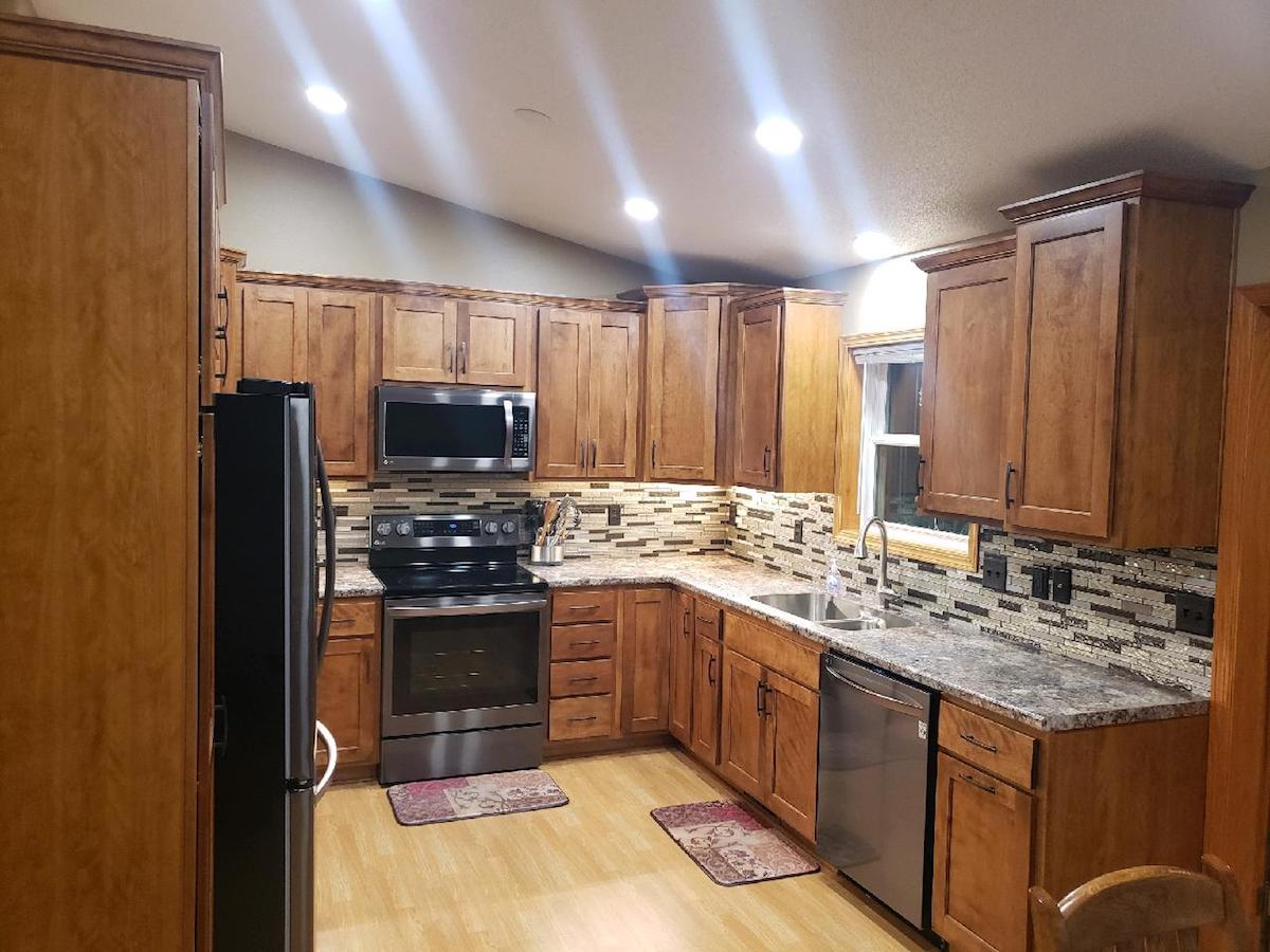 Cabinets In Sioux Falls Sd Kitchen Windows Unlimited